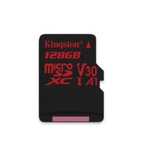 KINGSTON micro SDXC 128GB Canvas React micro SDXC UHS-I V30 (čtení/zápis: 100/80MB/s)
