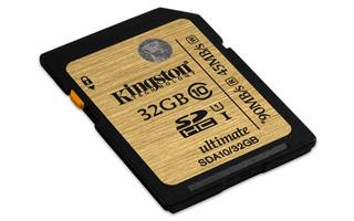 Kingston SDA10/32GB Ultimate SDHC class 10, 90MB/s, UHS-1 , dozivotni zaruka