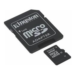 Kingston SDC10G2/32GB MicroSDHC class 10, 45MB/s,  UHS-1, dozivotni zaruka  + SD adaptér