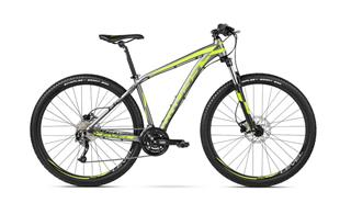 "Kross 16 Level B2 29"" XL graphite/lime/black matt"