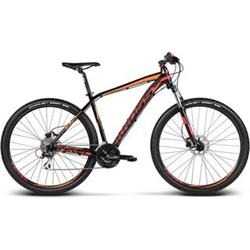 "Kross 2017 29"" Level B2 L/21"" black/red/orange glossy"
