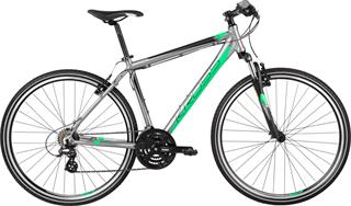 "Kross 2017 Evado 1.0 XL/23"" graphite/green matt"