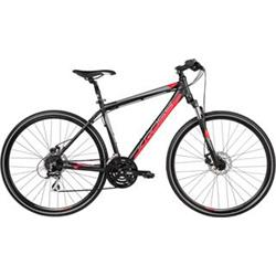"Kross 2017 Evado 3.0 L/21"" black/red matt"