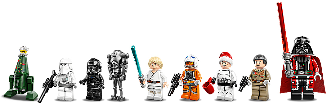 lego star wars adventni kalendar LEGO Star Wars 75056 Adventní kalendář 2014 (5702015123792) | T.S.  lego star wars adventni kalendar