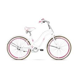 "LeGrand 16 Sanibel JR 24"" Cruiser white/rose glossy"