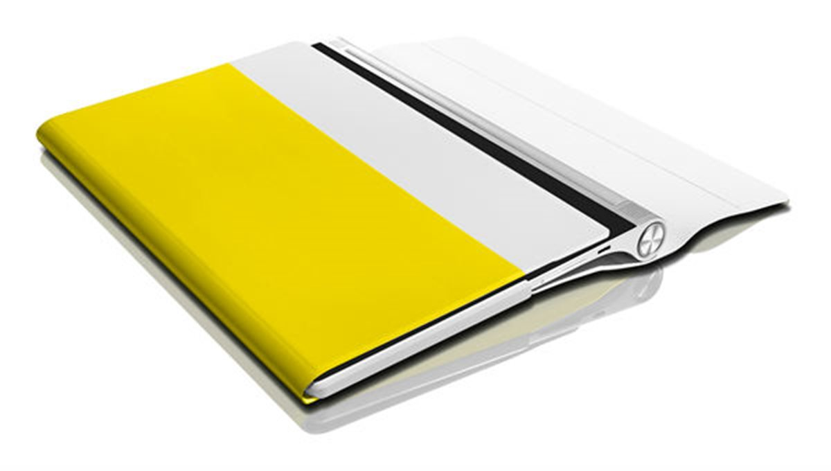 Lenovo yoga tablet 2 8 folio case and film žlutá