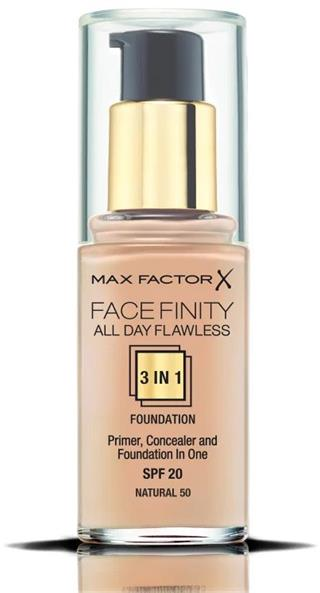 Max Factor Facefinity 3in1 Foundation 30ml - 50 Natural