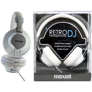 Maxell 303517 RETRO DJ WHITE