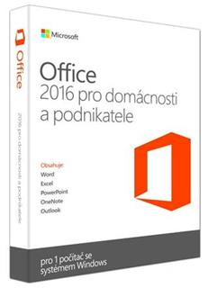 Microsoft Office Home and Business 2016 ENG (T5D-02826)