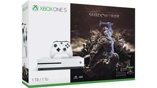 Microsoft XBOX ONE S 1TB + 1x hra Middle-Earth: Shadow of War (234-00189)