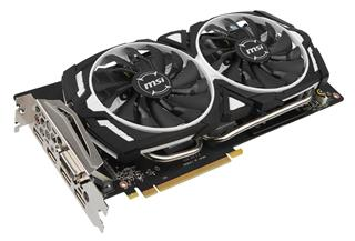 MSI GeForce GTX 1060 ARMOR 3G OCV1