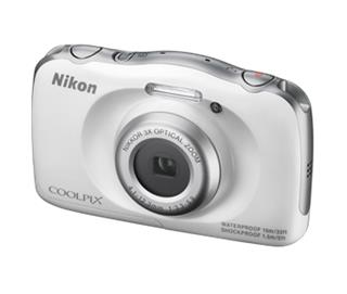 Nikon COOLPIX S33 White Backpack kit (VNA850K001)