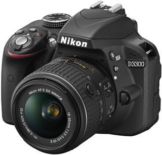 Nikon D3300 + 18-55 AF-P (VBA390K010)