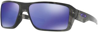 OAKLEY Double Edge Matte Black Tortoise - Violet Iridium