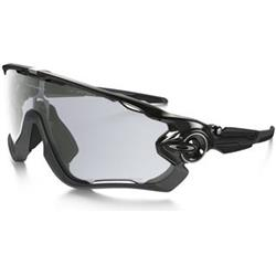 OAKLEY Jawbreaker Polished Black - Clear to Black Photochromic