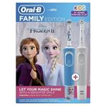Oral-B Family pack - D100 Vitality Sensi White + D100 Kids Frozen II