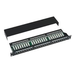 "PATCH PANEL 19"" 24x Cat5e STP"