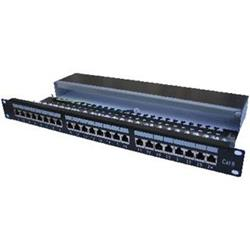 "PATCH PANEL 19"" STP 24x Cat6 1U"