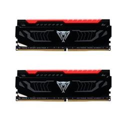 Patriot Viper LED DDR4 16GB (2x8GB) 2400MHz CL14, Red