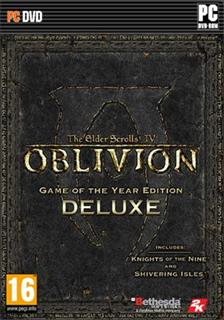 PC The Elder Scrolls IV: Oblivion Game of the Year Deluxe