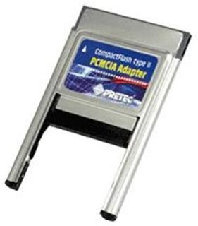 Pretec CompactFlash Type I/II PCMCIA Adapter