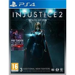 PS4 - Injustice 2 Deluxe Edition