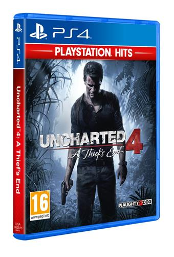 PS4 - Uncharted 4: A Thief's End (HITS)