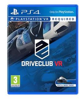 PS4 VR - DriveClub VR