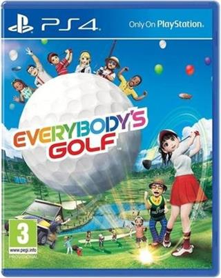 PS4 VR - Everybody's Golf