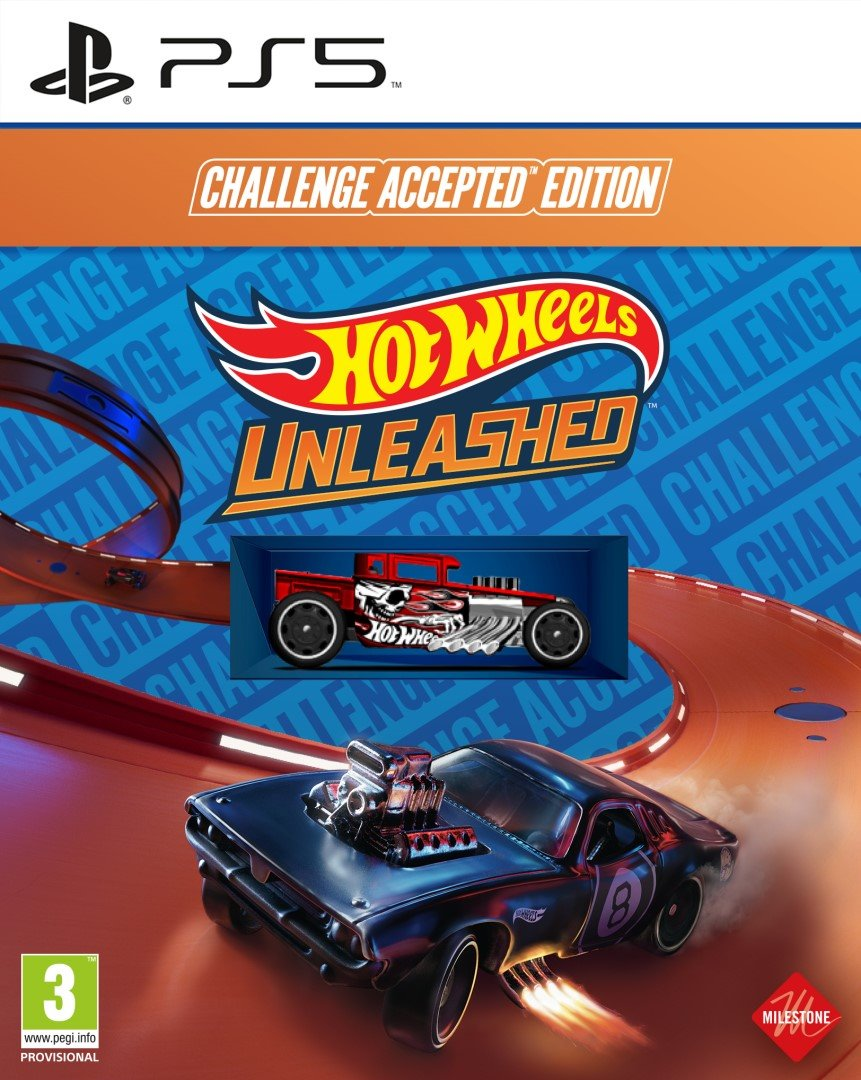 PS5 - Hot Wheels Unleashed Challenge Accepted Ed.