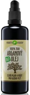 Purity Vision Raw Bio Arganový olej 100ml