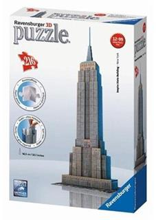 Ravensburger - Empire State Building 3D, 216 dílků