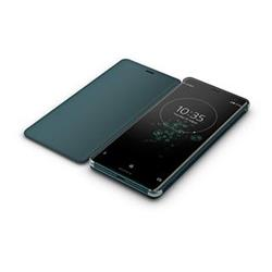 SONY SCSH70 Style Cover Flip pro Xperia XZ3 Green