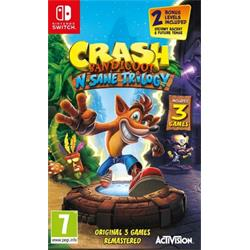 Switch - Crash Bandicoot N.Sane Trilogy
