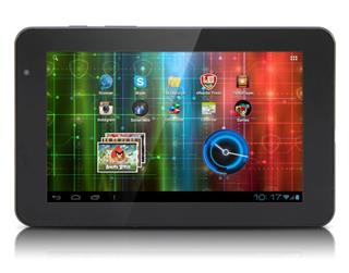 "Tablet PRESTIGIO MultiPad PMP5570, 7"" IPS, Android 4.0.4, 1024x600, 2x1.6GHz, 8GB, WiFi, HDMI, USB"