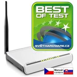 TENDA Wireless-N Router 802.11b/g/n W311R+ 150Mbps, 1x WAN, 4x LAN, 1x Ext. Ant.