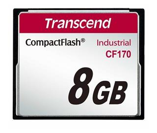 Transcend Compact Flash 8GB 170x Industrial (TS8GCF170)