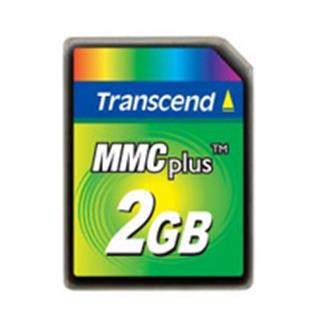 Transcend MultiMediaCard PLUS High Speed 2GB (TS2GMMC4)