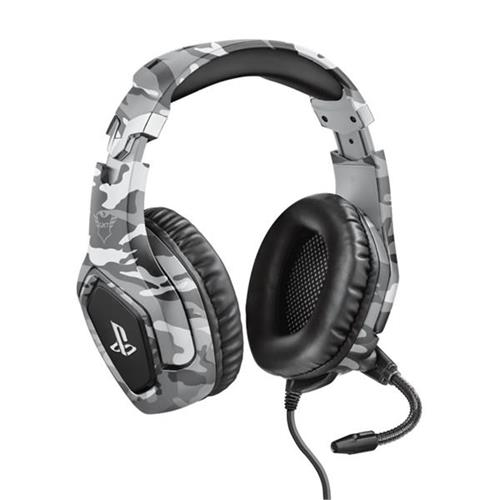 Trust GXT 488 Forze-G PS4 Gaming Headset PlayStation, šedá
