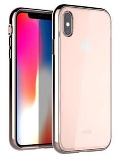 Uniq Hybrid iPhone XS MAX Glacier Xtreme - Blush Gold