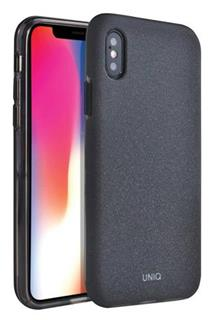 Uniq Hybrid iPhone XS/X Lithos - Charcoal