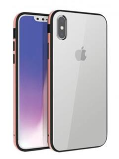 Uniq Hybrid iPhone XS/X Valencia Clear - Blush Gold