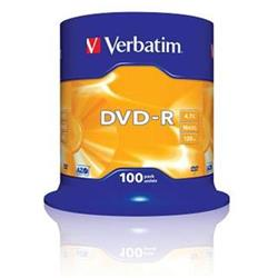 Verbatim DVD-R 4,7GB 16x SPINDL (100pack)