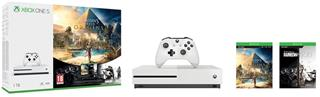 XBOX ONE S 1TB + Assassin's Creed: Origins + Rainbow Six: Siege (234-00235)