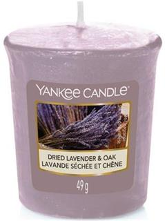 Yankee Candle Votive Candle Dried Lavender & Oak 49g